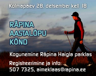 Räpina aastalõpu kõnd @ Räpina Haigla parkla | Räpina | Põlva maakond | Eesti