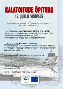 Võõpsu kalameestepäev 2017 @ Võõpsu pritsikuuri plats | Võõpsu | Põlva maakond | Eesti