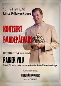 Kontsert emadepäevaks @ Linte Raamatukogu-Külakeskus | Linte | Põlva maakond | Eesti