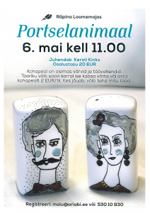 Töötuba: portselanimaal @ Räpina loomemaja | Räpina | Põlva maakond | Eesti