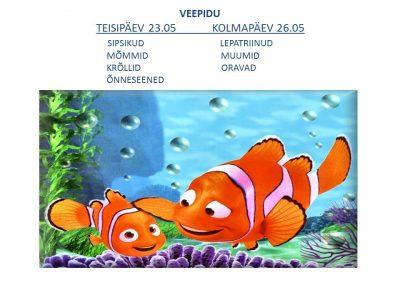 Veepidu lasteaias @ Räpina Lasteaed Vikerkaar | Räpina | Põlva maakond | Eesti