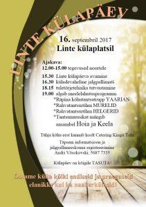 Linte külapäev @ Linte külaplats | Linte | Põlva maakond | Eesti