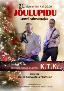Jõulupidu Leevi rahvamajas @ Leevi Rahvamaja | Leevi | Põlva maakond | Eesti