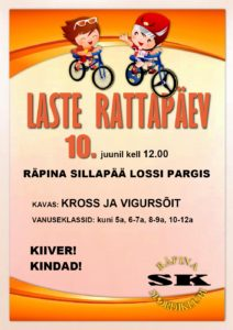 Räpina Laste Rattapäev 2018 @ Räpina mõisapark | Räpina | Põlva maakond | Eesti