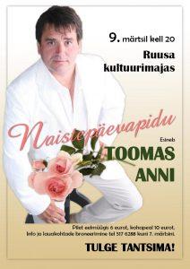 Naistepäevapidu @ Ruusa kultuurimaja | Ruusa | Põlva maakond | Eesti