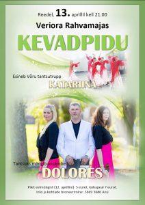 Kevadpidu @ Veriora rahvamaja | Põlva maakond | Eesti