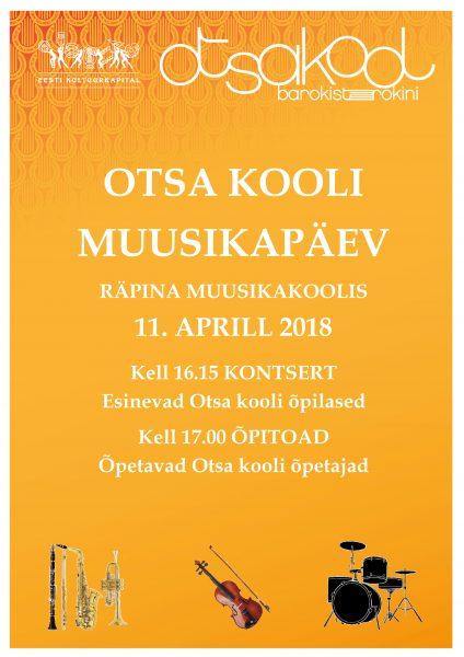 Otsa kooli Muusikapäev @ Räpina Muusikakool | Räpina | Põlva maakond | Eesti