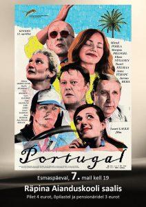Film PORTUGAL @ Räpina Aianduskooli saal | Räpina | Põlva maakond | Eesti