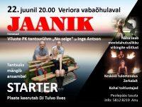 JAANIK Veriora vabaõhulaval @ Veriora vabaõhulaval | Veriora | Põlva maakond | Eesti
