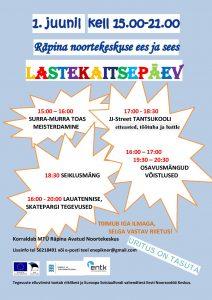 Lastekaitsepäev @ Räpina Avatud Noortekeskus | Räpina | Põlva maakond | Eesti