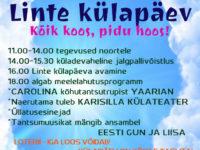 Linte külapäev KÕIK ON KOOS, PIDU HOOS @ Linte küla | Linte | Põlva maakond | Eesti