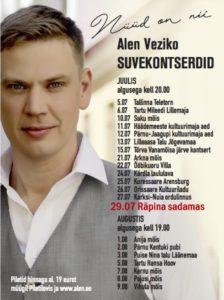 Alen Veziko suvekontsert @ Räpina Sadam | Eesti