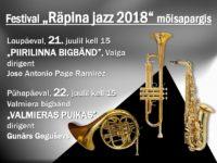 Räpina Jazz 2018: Valmiera bigbänd @ Räpina mõisa peahoone | Räpina | Põlva maakond | Eesti
