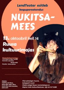 Kogupereetendus NUKITSAMEES @ Ruusa kultuurimaja   Ruusa   Põlva maakond   Eesti