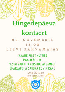 Hingedepäeva kontsert @ Leevi Rahvamaja | Leevi | Põlva maakond | Eesti