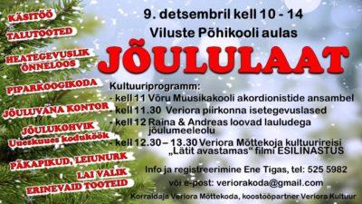 Jõululaat @ Viluste Põhikool | Põlva maakond | Eesti