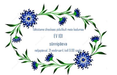 EV aastapäev @ Räpina Lasteaed Vikerkaar | Räpina | Põlva maakond | Eesti