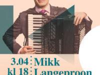 Kontsert: Mikk Langeproon (akordion) @ Räpina Muusikakool | Räpina | Põlva maakond | Eesti