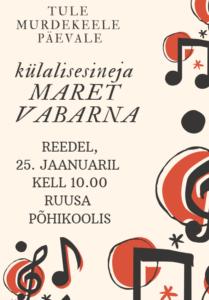 Murdekeele päev @ Ruusa Põhikool | Ruusa | Põlva maakond | Eesti