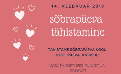 Sõbrapäeva tähistamine @ Ruusa Põhikool | Ruusa | Põlva maakond | Eesti