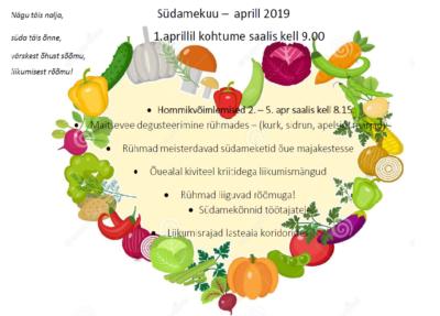 Südamekuu virgutusvõimlemised @ Räpina Lasteaed Vikerkaar | Räpina | Põlva maakond | Eesti