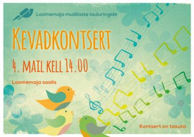 Kevadkontsert @ Räpina Loomemaja | Räpina | Põlva maakond | Eesti
