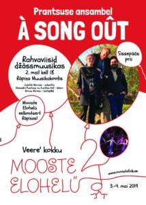 Prantsuse ansambli A SONG OUT kontsert @ Räpina Muusikakool | Räpina | Põlva maakond | Eesti
