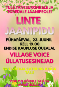 Jaanipidu Lintes @ Linte küla | Linte | Põlva maakond | Eesti