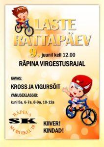 Laste Rattapäev 2019 @ Räpina Virgestusrada