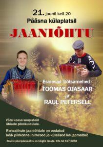 Pääsna küla jaaniõhtu @ Pääsna külaplats | Pääsna | Põlva maakond | Eesti