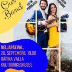 OUR BAND, USA folk-pop duo @ Räpina Valla Kultuurikeskus | Räpina | Põlva maakond | Eesti