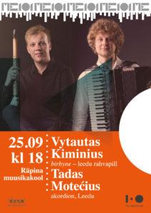 Kontsert Räpina Muusikakoolis @ Räpina Muusikakool | Räpina | Põlva maakond | Eesti
