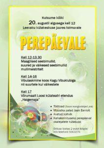 Perepäev Leevakul @ Leevaku külakeskus | Eesti