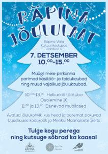 Jõululaat @ Räpina Valla Kultuurikeskus | Räpina | Põlva maakond | Eesti