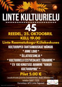 Kultuuriõhtu Linte kultuurielu 45 @ Linte Raamatukogu-külakeskus | Linte | Põlva maakond | Eesti