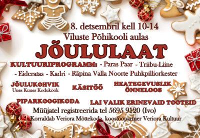 Jõululaat Vilustes @ Viluste PK aula | Põlva maakond | Eesti