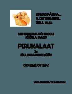 Pirukalaat @ Mehikoorma Põhikool | Eesti