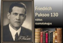 "Photo of Näitus ""Friedrich Puksoo 130"""