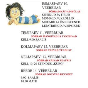 Sõbranädal lasteaias-sõbrad käivad külas @ Räpina Lasteaed Vikerkaar | Räpina | Põlva maakond | Eesti