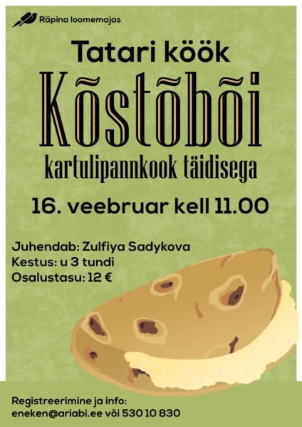 Tatari köögi õpituba @ Räpina loomemaja | Räpina | Põlva maakond | Eesti