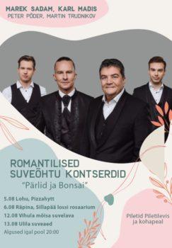 Kammerlik suvekontsert Sillapää lossi rosaariumis @ Sillapää lossi rosaarium | Räpina | Põlva maakond | Eesti
