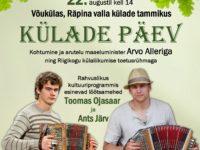 Külade päev Räpina valla külade tammikus Võukülas @ Võuküla