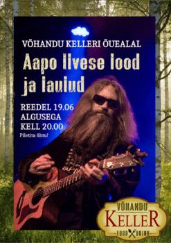 Aapo Ilvese vabaõhukontsert @ Võhandu Kelleri õuealal | Räpina | Põlva maakond | Eesti