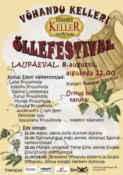 Võhandu Kelleri õllefestival @ Võhandu Keller | Räpina | Põlva maakond | Eesti