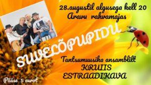 Suvelõpupidu @ Aravu rahvamaja | Aravu | Tartu maakond | Eesti