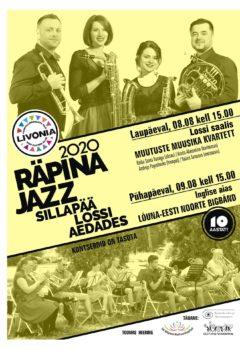 Räpina jazz @ Sillapää lossi I korruse saal | Sillapää | Põlva maakond | Eesti