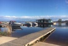 Photo of Peipsi järve teemaline õpilastööde näitus Räpina sadamas