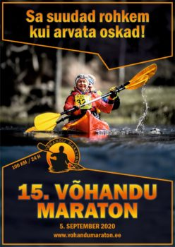 15. Võhandu maraton @ Tamula - Võhandu jõe suue | Eesti