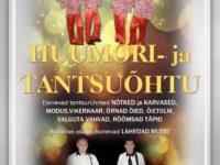 Huumori- ja tantsuõhtu @ Räpina Valla Kultuurikeskus | Räpina | Põlva maakond | Eesti