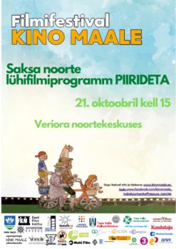 "Filmifestival ""Kino maale"": noorte filmiprogramm ""Piirideta"" @ Veriora noortekeskus | Veriora | Põlva maakond | Eesti"